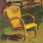 Yellow Chair 6 x 8 sold