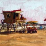 Lifeguard Tower 9x12